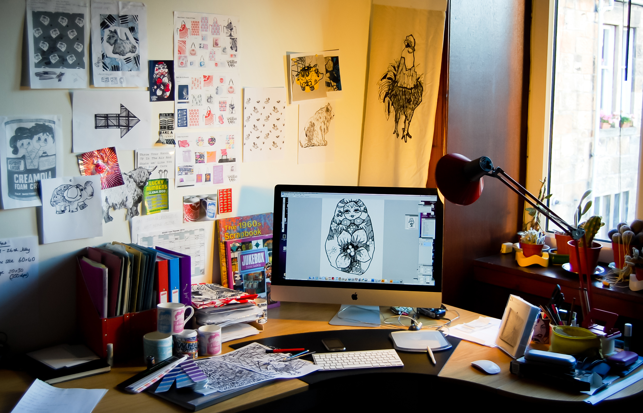 My Desk: Gillian Kyle | My Friend's House