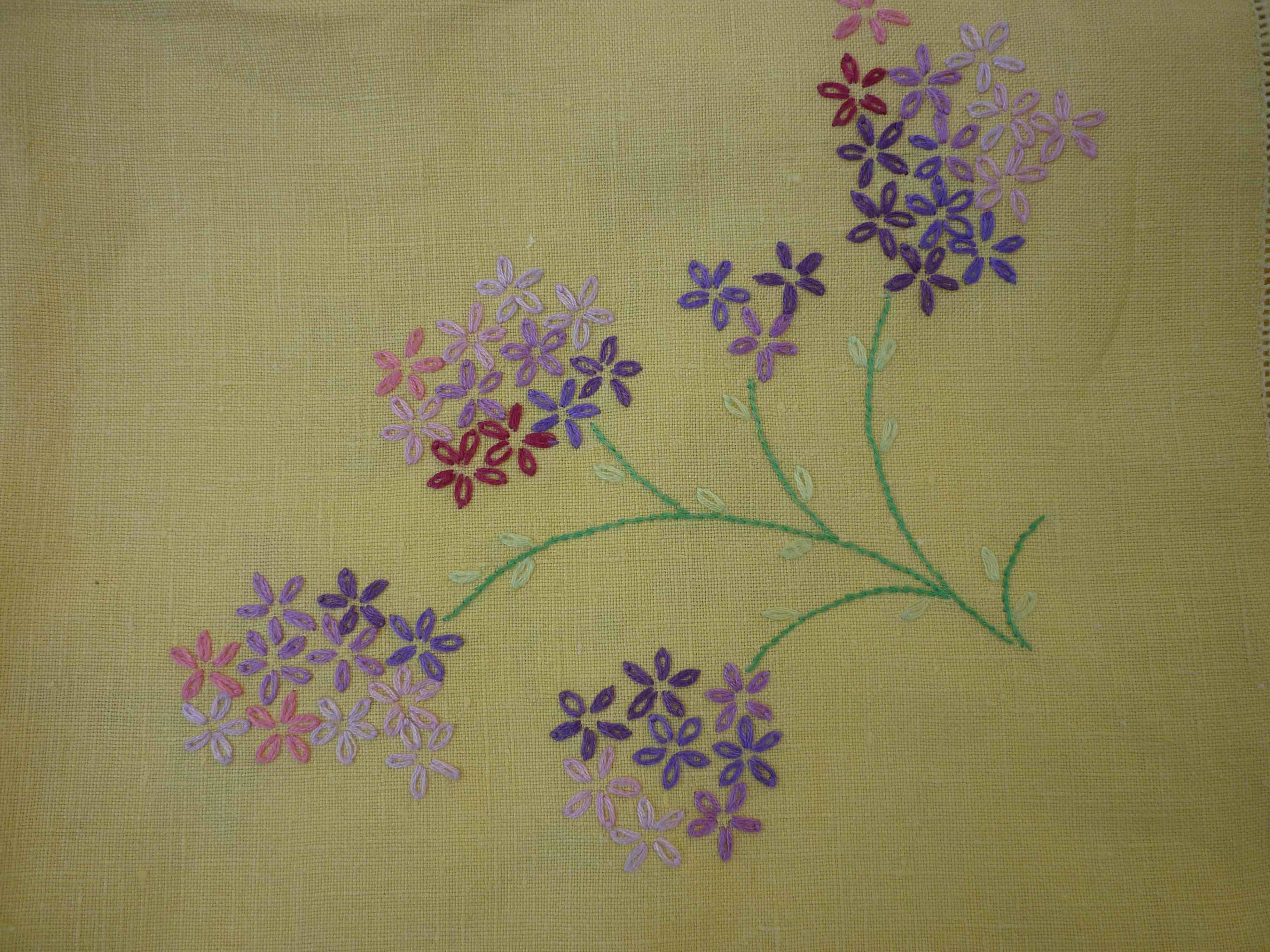 Simple hand embroidery designs for tablecloth - Simple Hand Embroidery Designs For Tablecloth