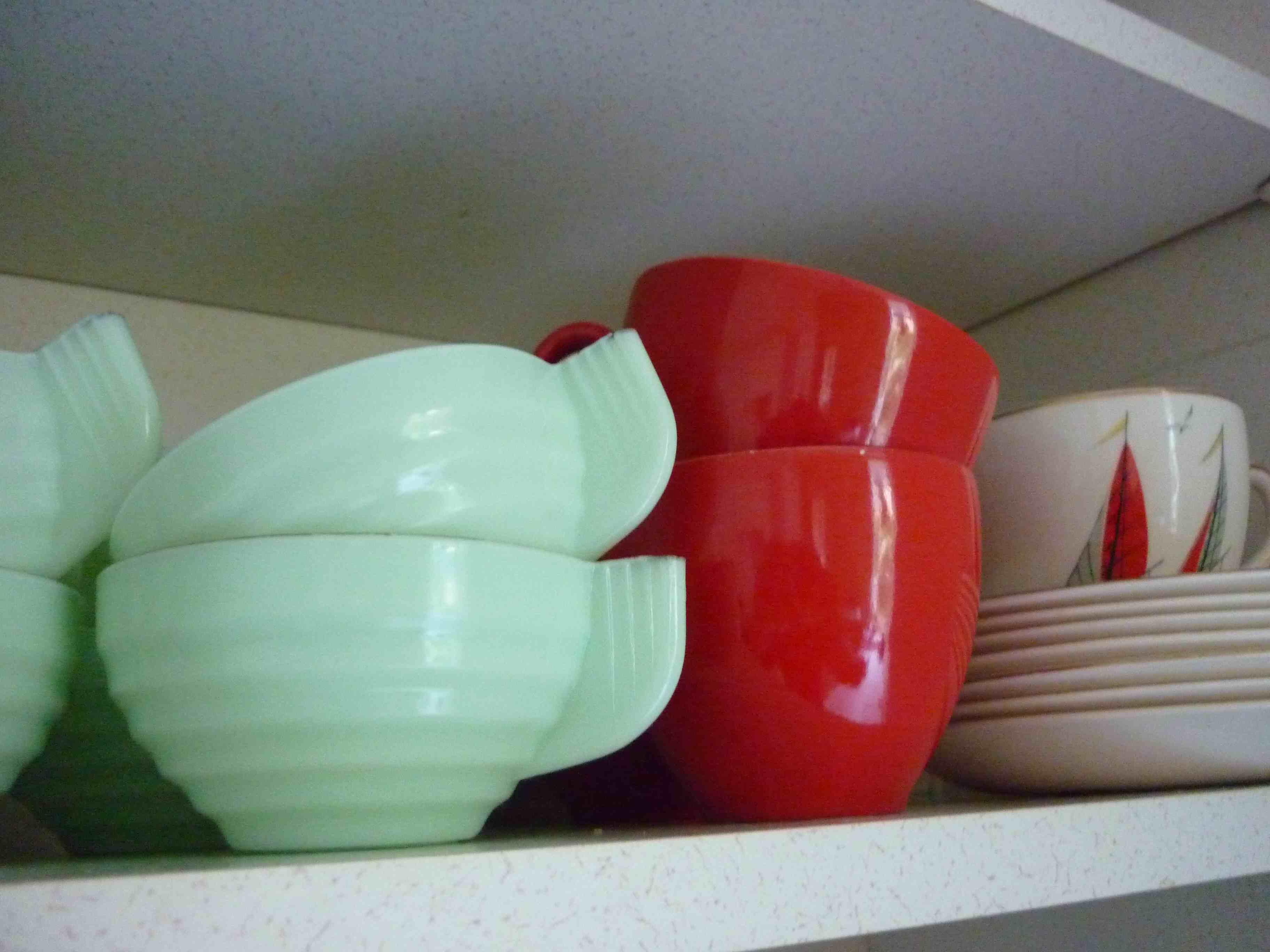 art deco teacups