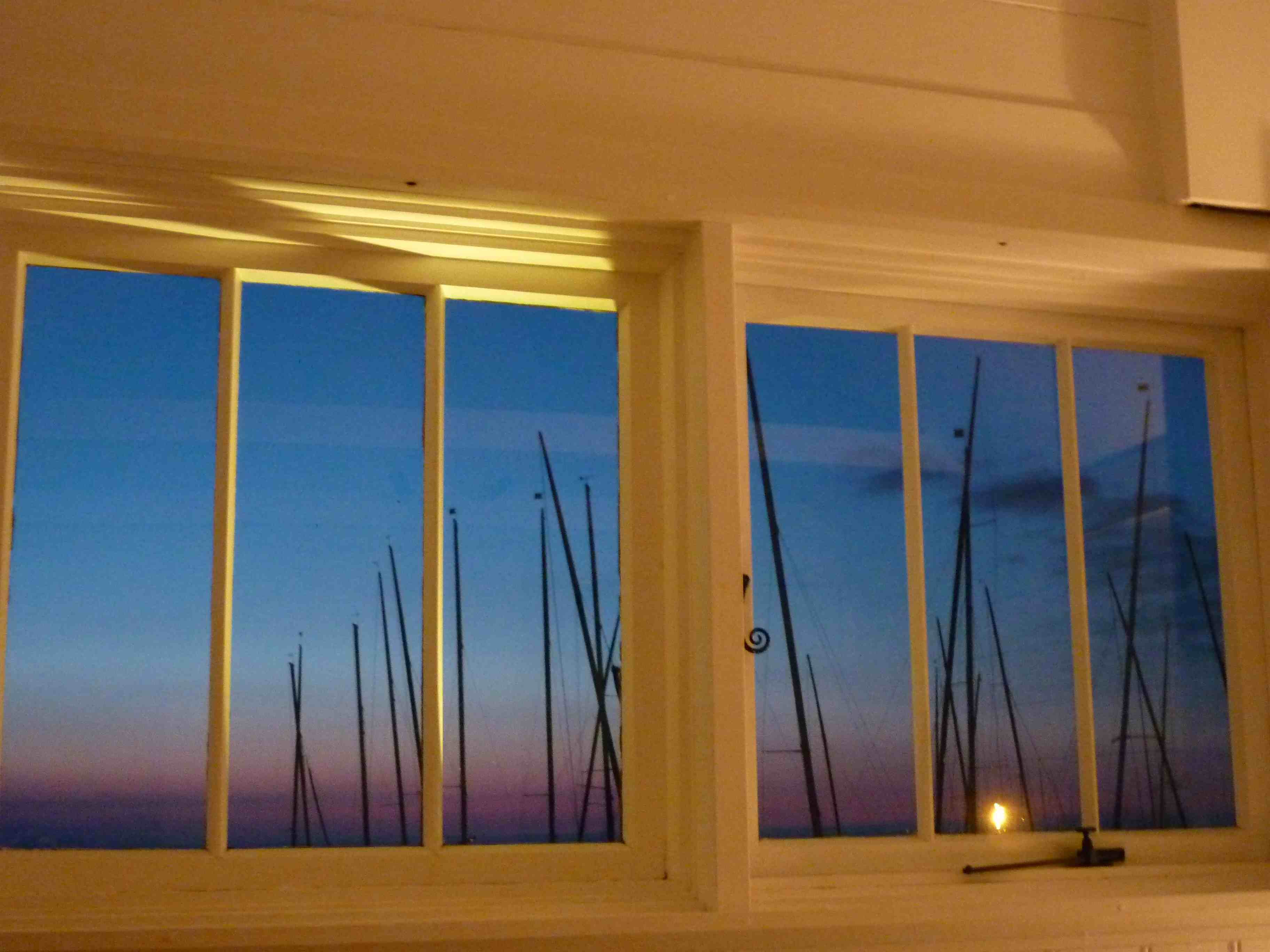 fisherman's hut window