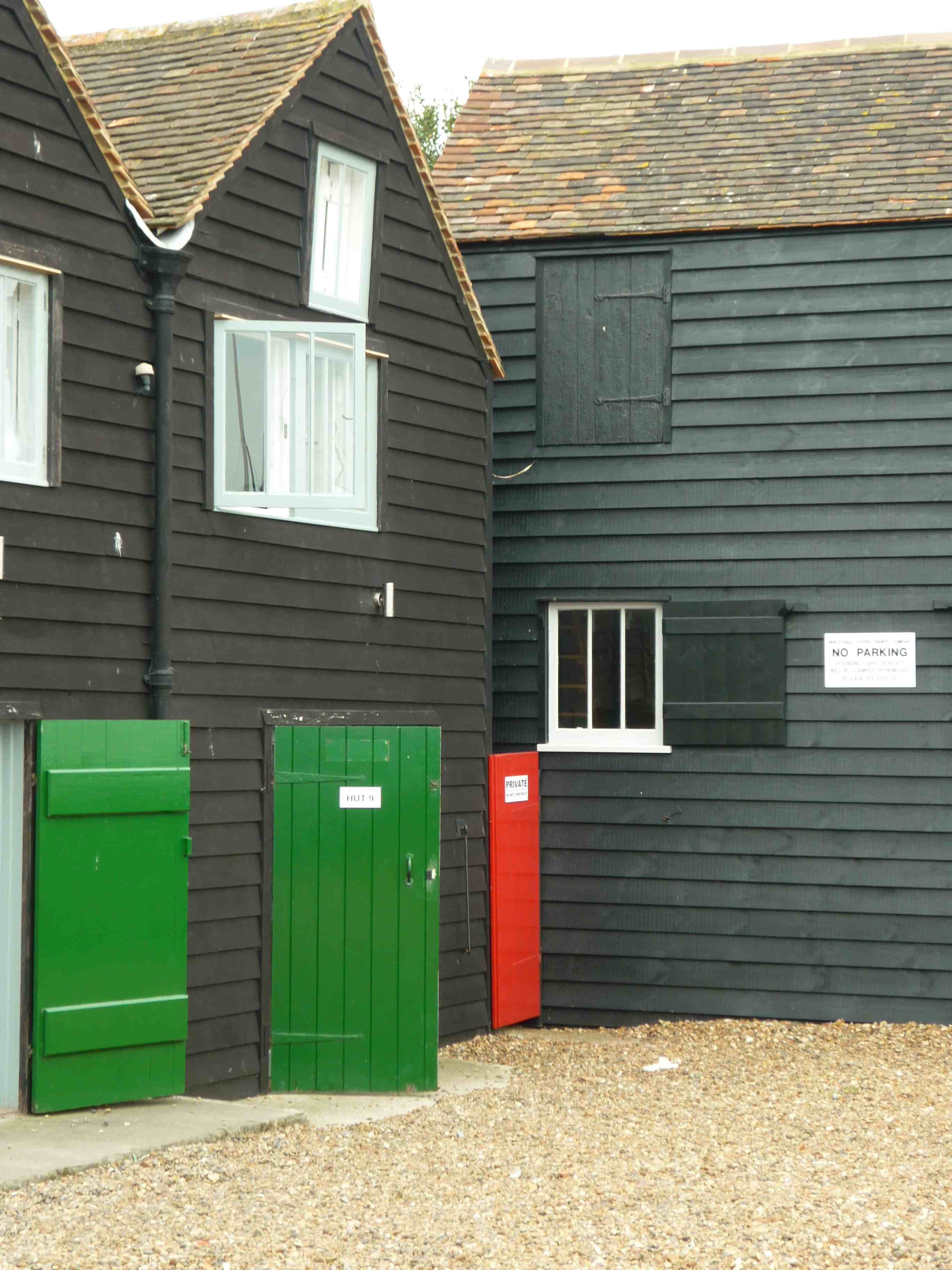 fishermans huts paint colours