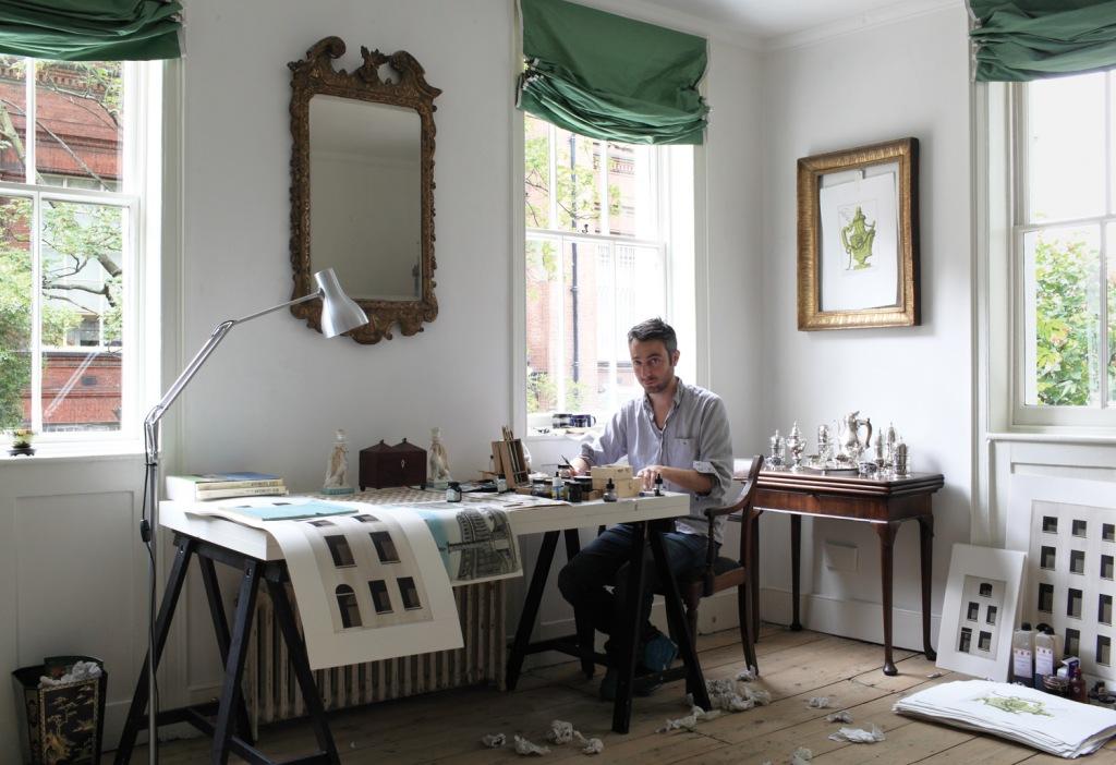 Pablo Bronstein studio