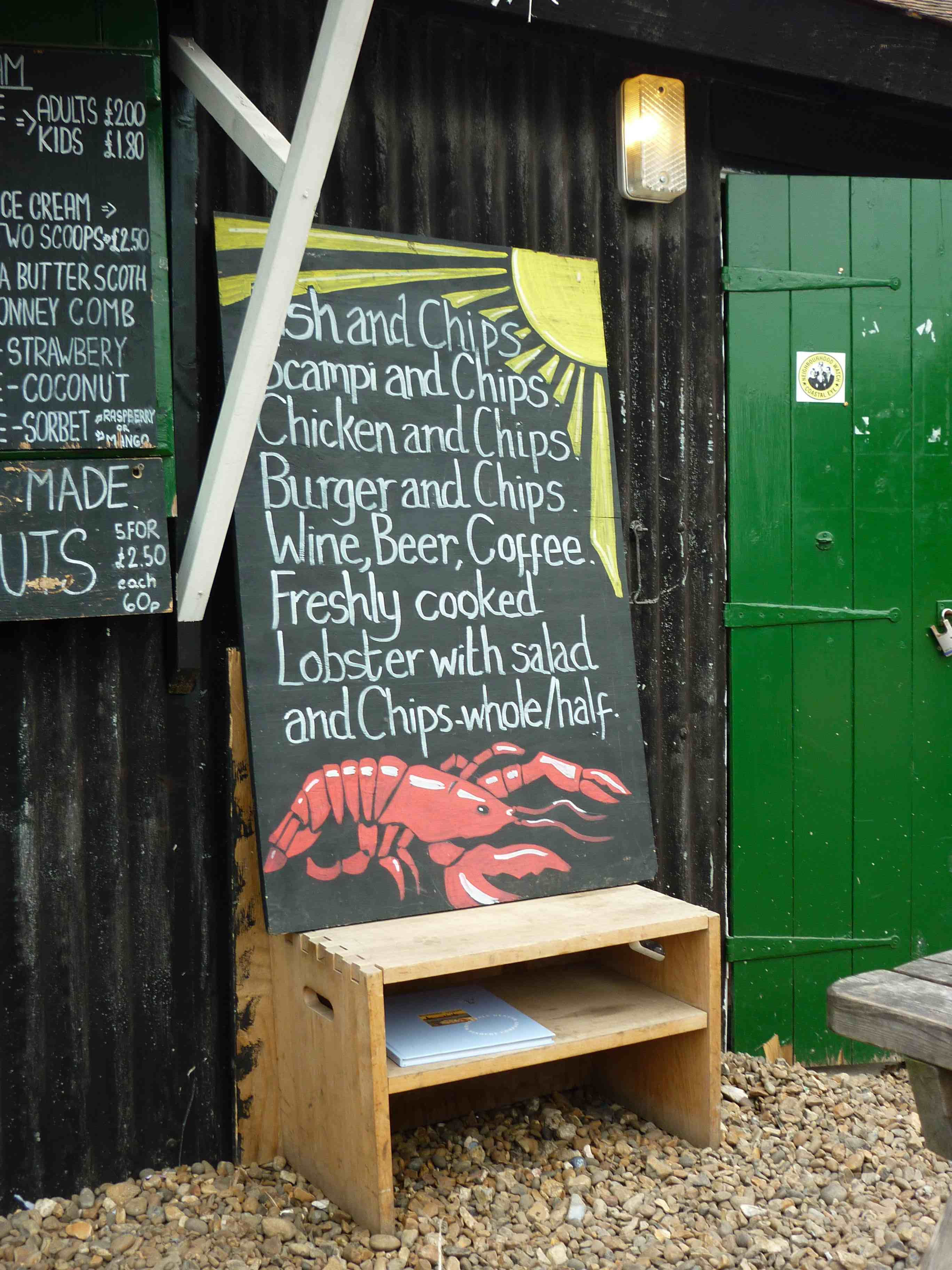 whistable lobster shed