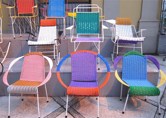 Marni wicker chairs