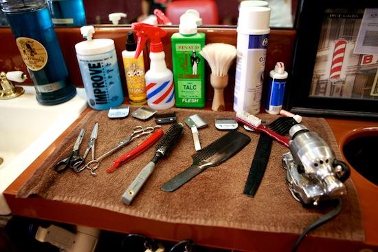 Hawleywoods barber  longbeach   LA