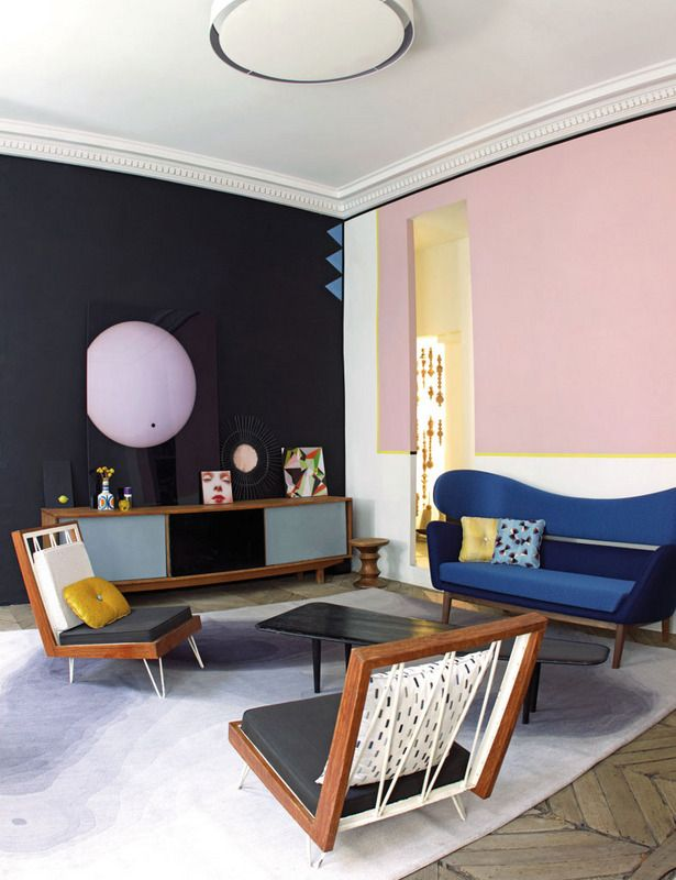 Elle.es | Fifties style living room