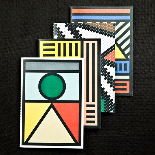 Camille Walala tribal notebooks