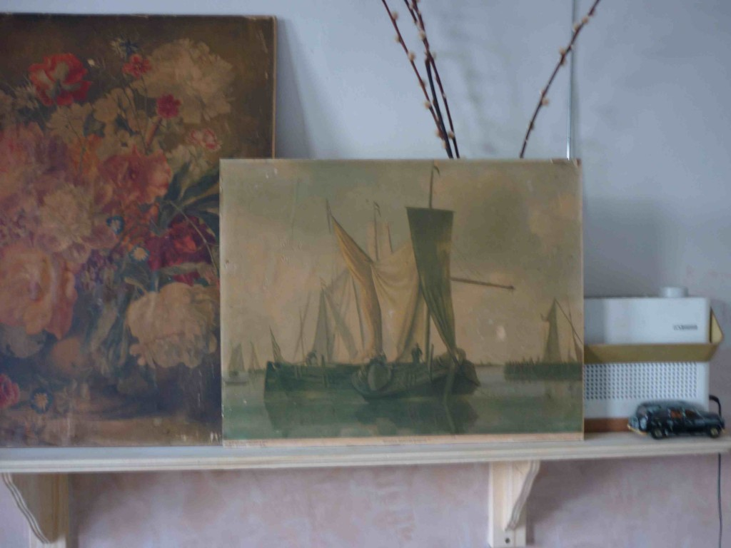 sial boat painting