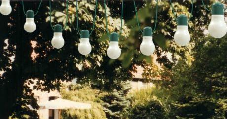 Garden lighting overhead | My Friend's House