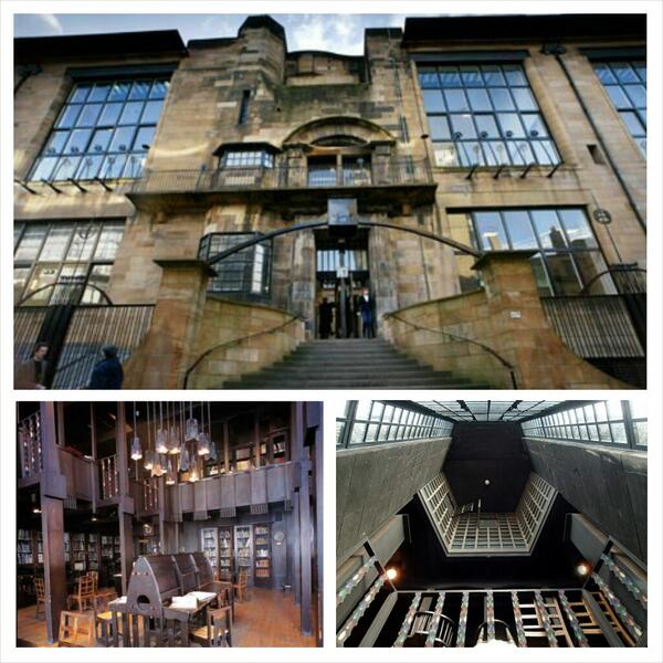 Mackintosh Art School | The Glasgow School of Art | My Friend's House