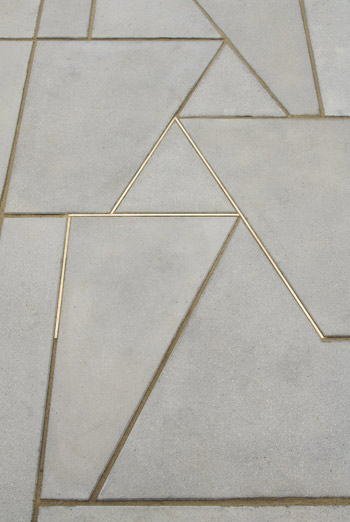 Metal Floor Inlays : Trend martin boyce floor my friend s house