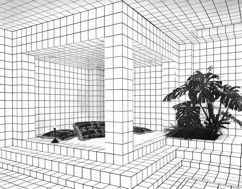 Tiled room | My Friend's House