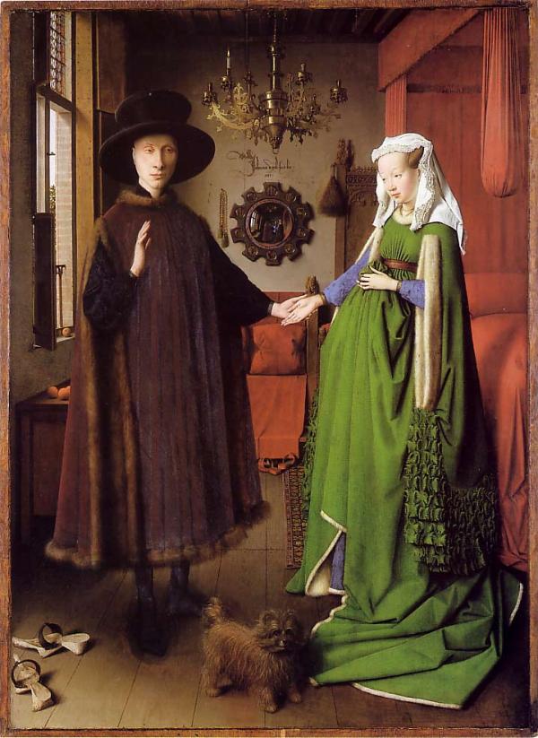 van eyck arnolfini mirror