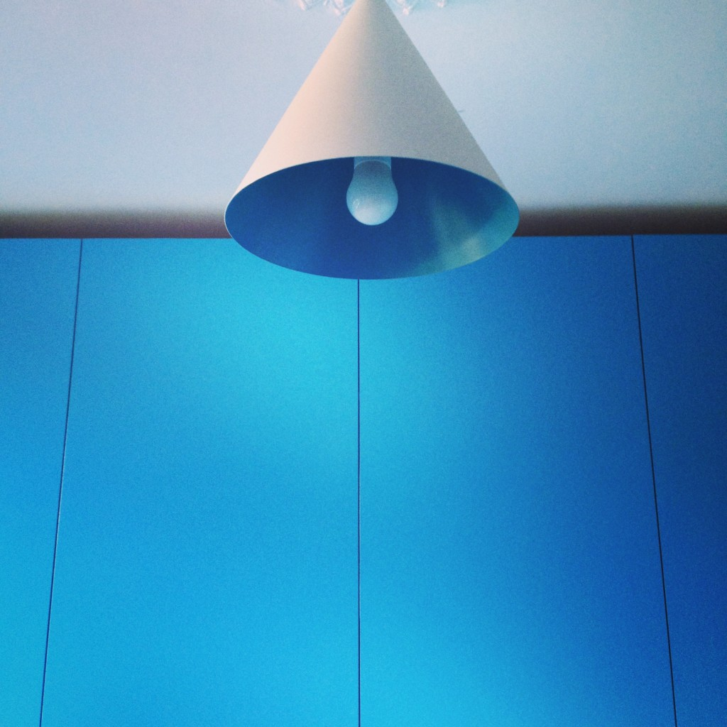 Blue interiors | St Giles Blue | My Friend's House