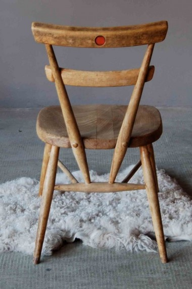 ercol school stacking chair