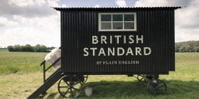 British Standard Shepherd's hut LDF14