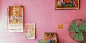 colourful bohemian indian room