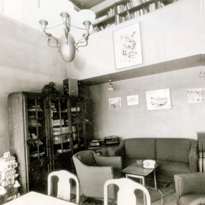 Narkomfin interior