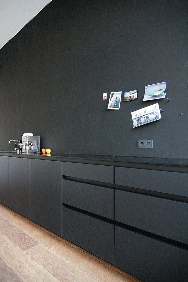 Paint talk part a high number my friend 39 s house - Cuisine noir mat ikea ...
