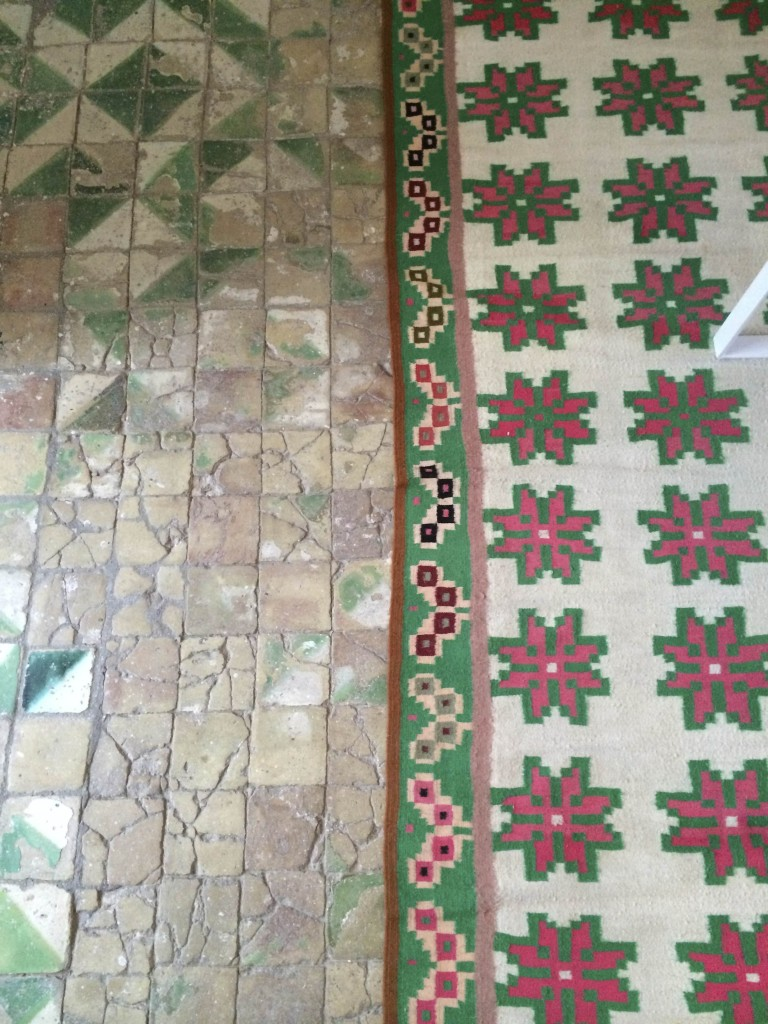 Tiled floor | Tunisia tiles | My Friend's House