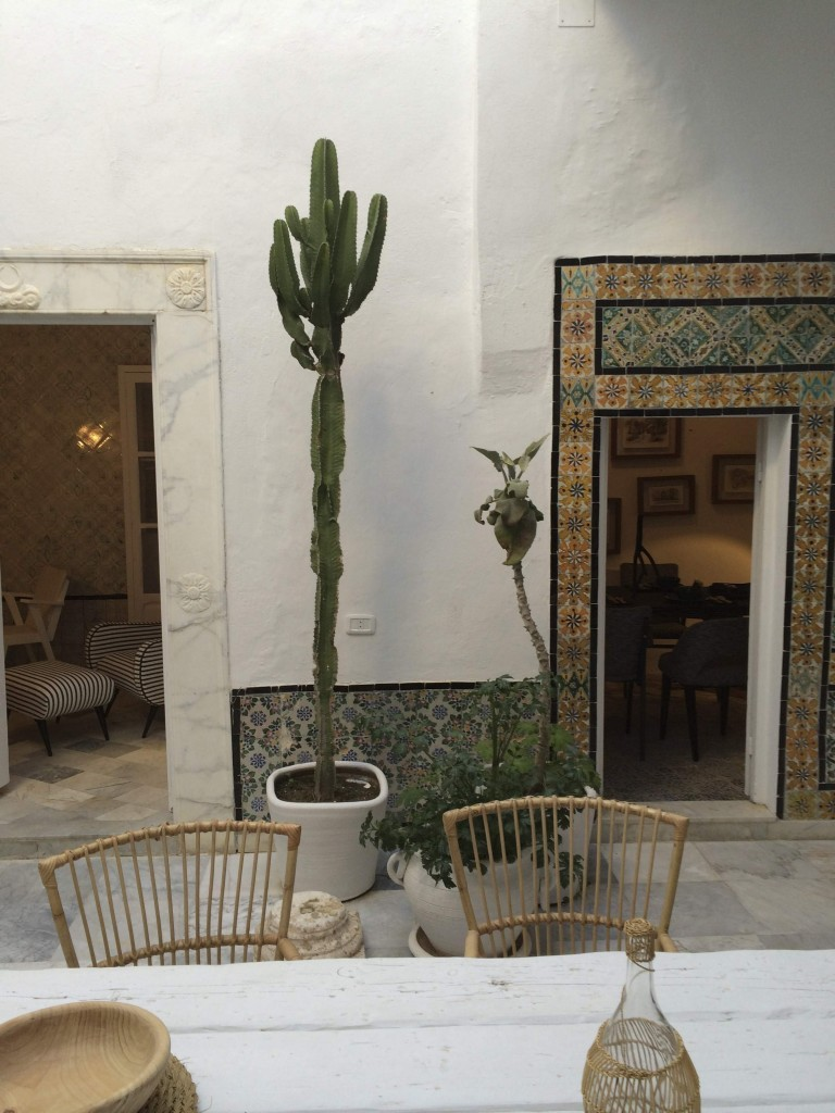 Tiled interiors shop | Sidi Bou Said | My Friend's House