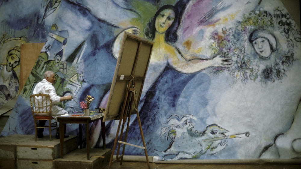Chagall painting | My Friend's House