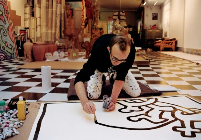 Keith Haring in his studio | My Friend's House