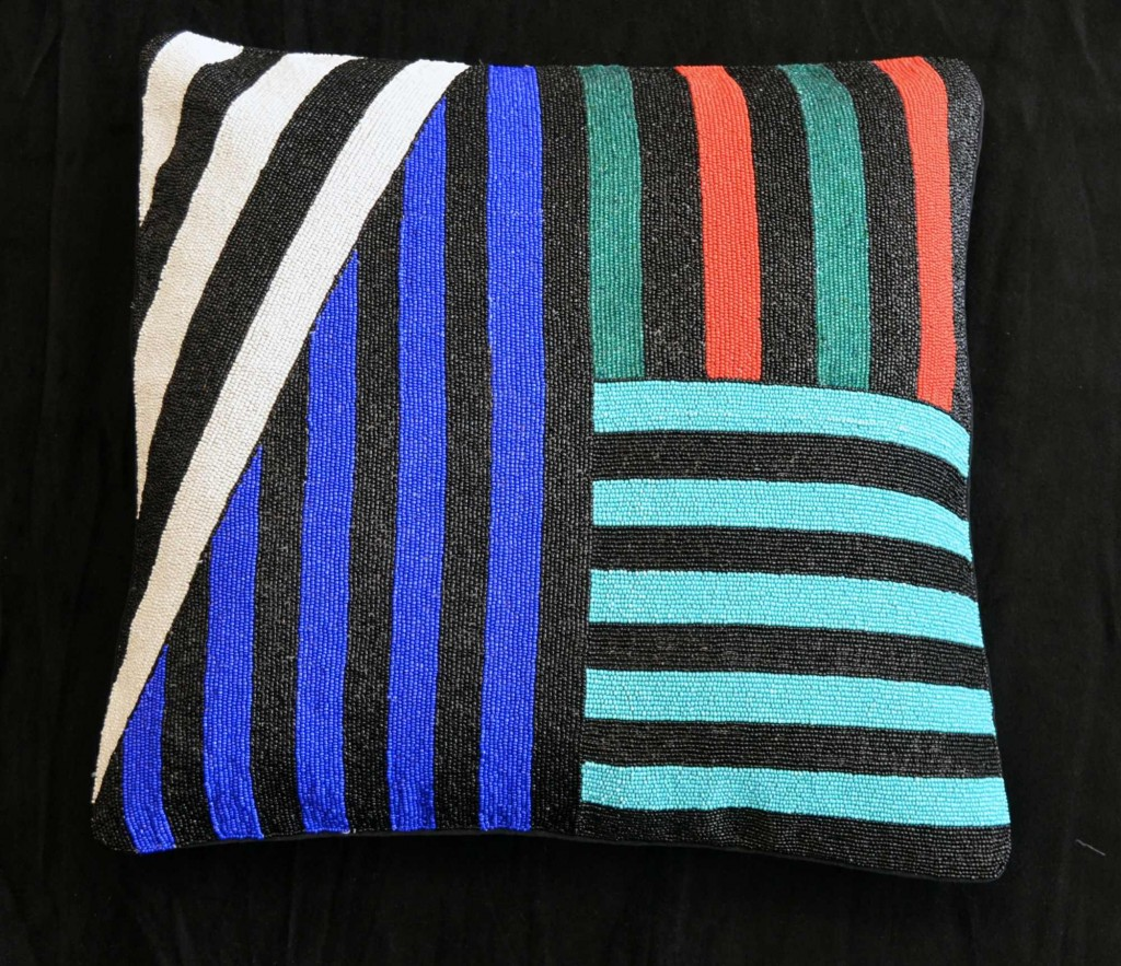 Striped cushion | Soboye | My Friend's House
