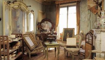 Untouched Parisian apartment