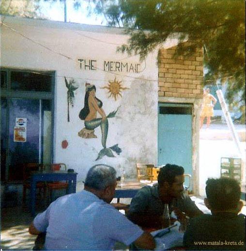 Mermaid cafe Matala
