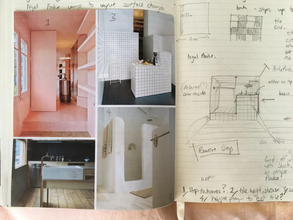 Bathroom moodboard | Highland house | My Friend's House