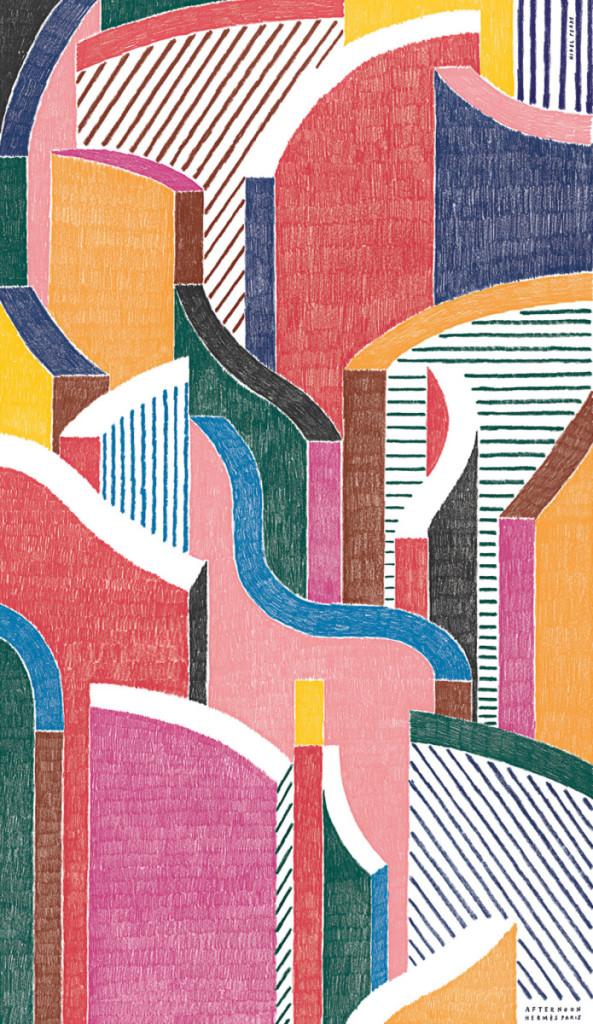 Hermes-Panel-Nigel-Peake-My Friend's House