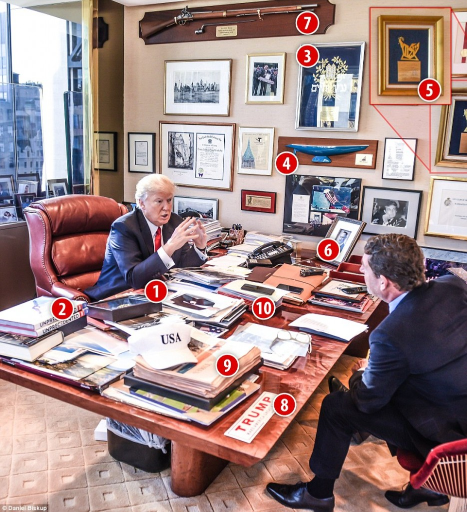 Donald Trump's office